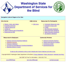 Services for the Blind